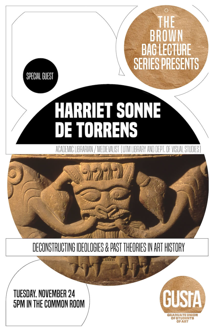 Poster for Harriet Sonne de Torrens Lecture