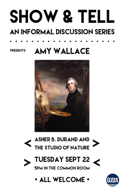 Poster for Amy Wallace Lecture