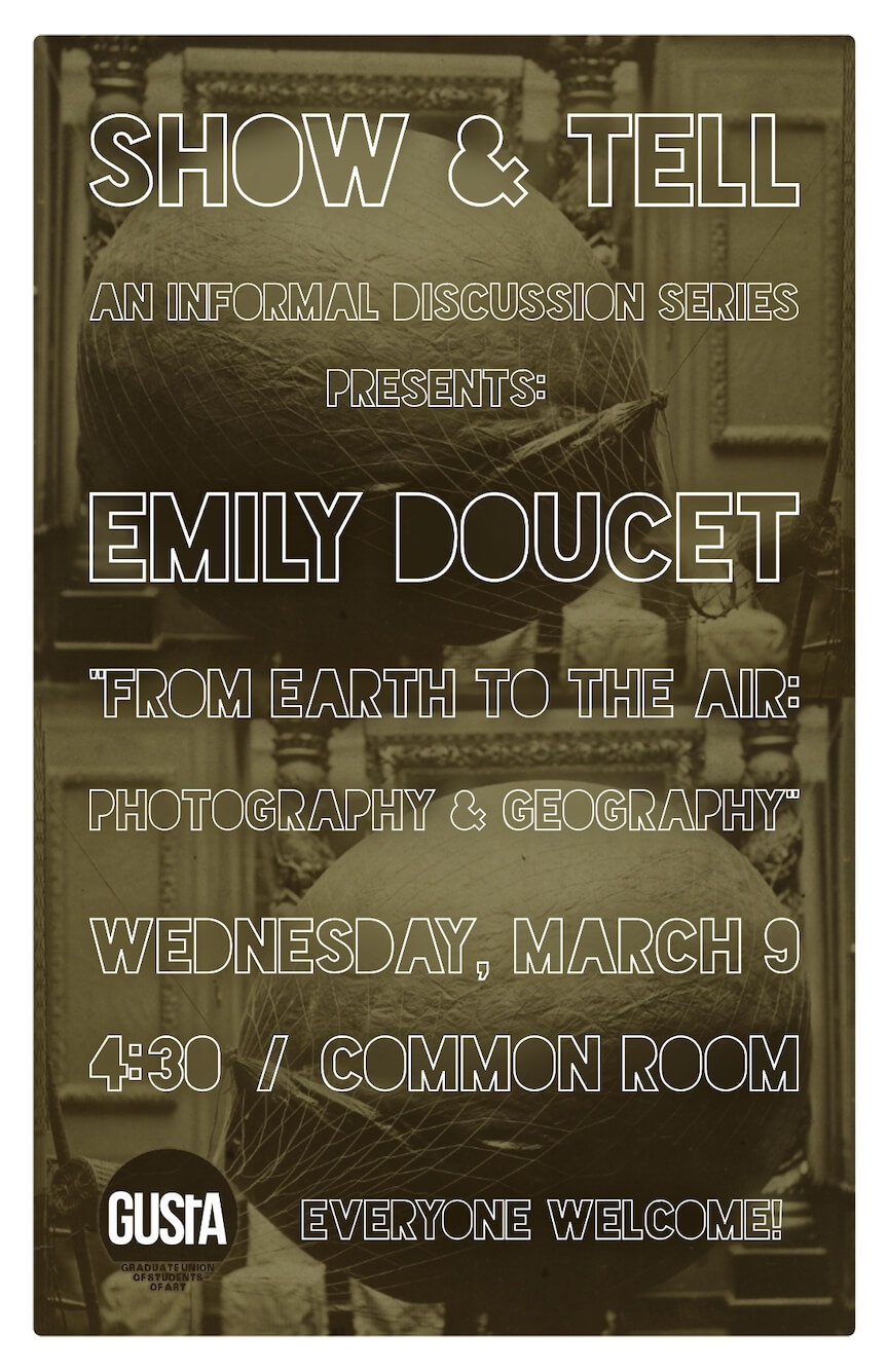 Poster for Emily Doucet Lecture